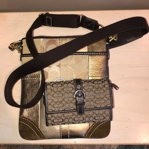 USED Coach Crossbody and Wallet